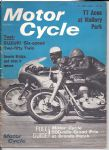 MOTOR CYCLE - MOTORCYCLE MAGAZINE - 23RD JUNE 1966 - M1257